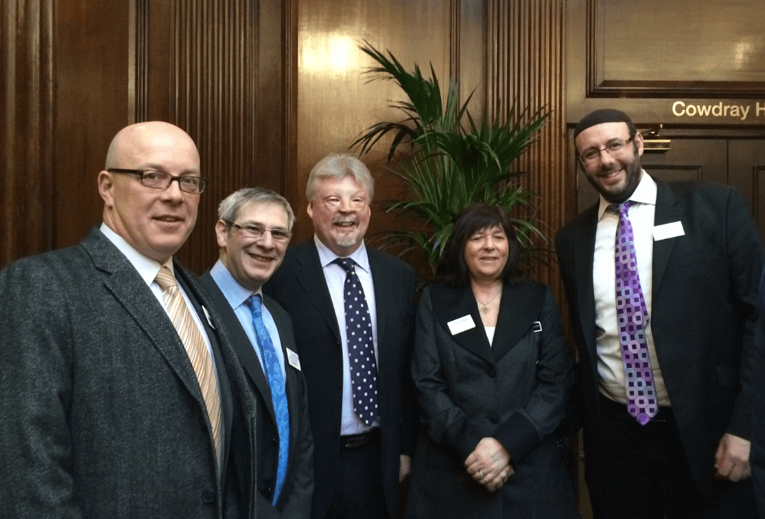 Simon Weston CBE spoke at Hamlins' Property Network