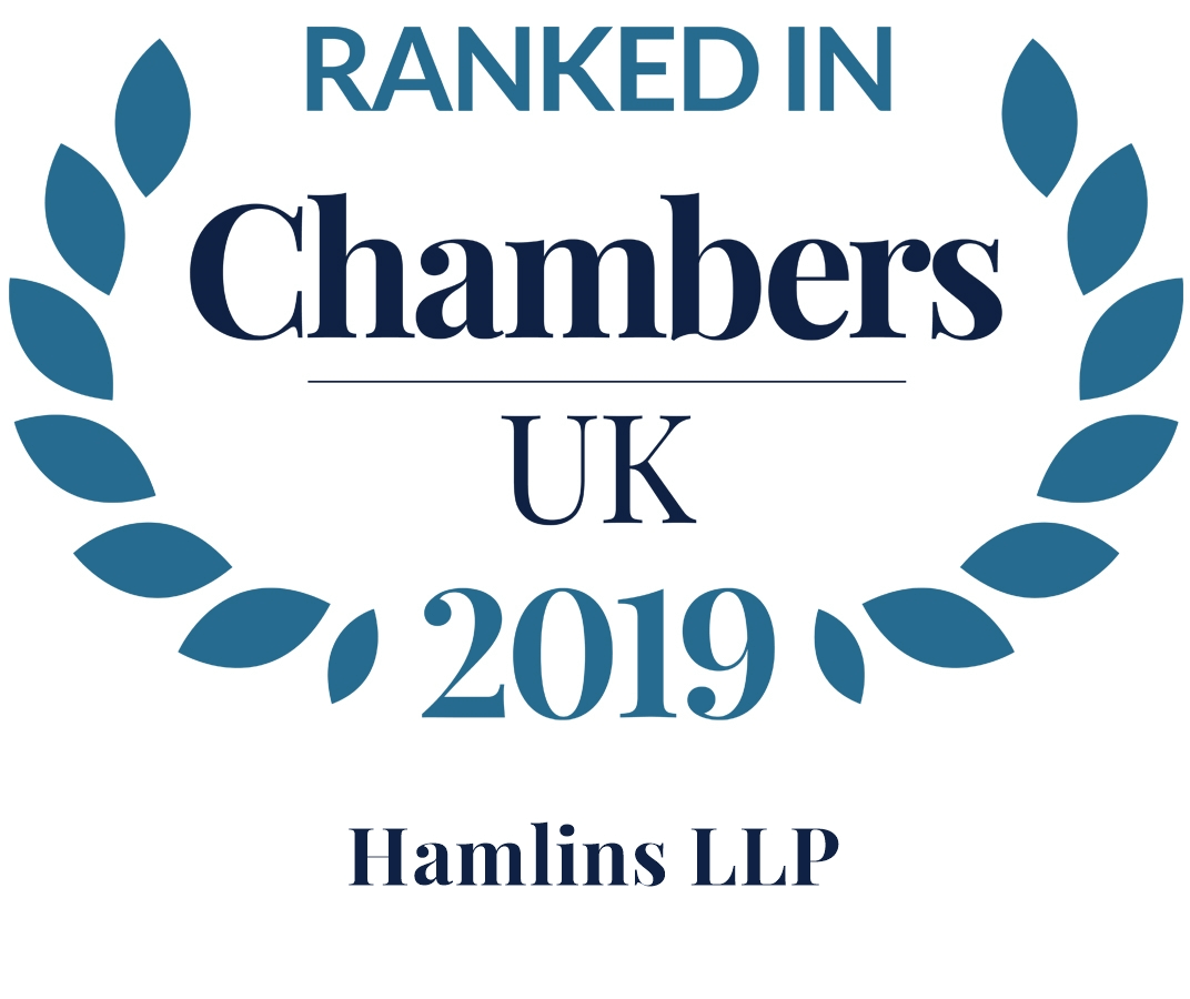 Hamlins expertise recognised in Chambers and Partners 2019