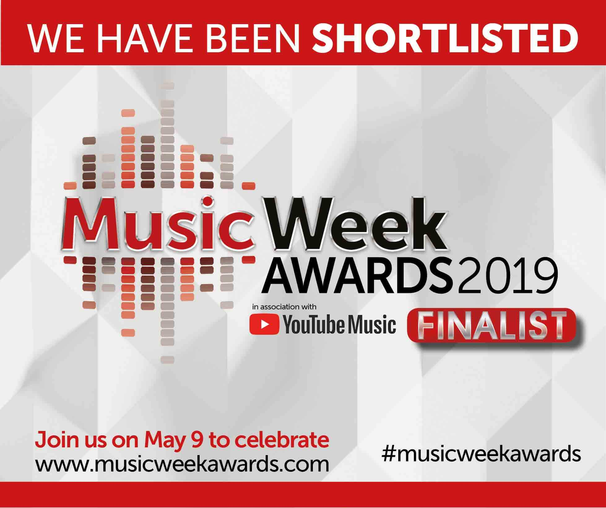 Hamlins shortlisted for Law Firm Of The Year at the Music Week Awards 2019