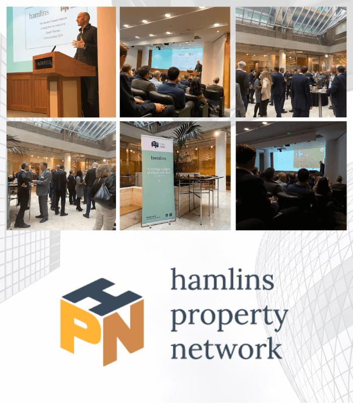 Hamlins Property Network presents Gareth Thomas
