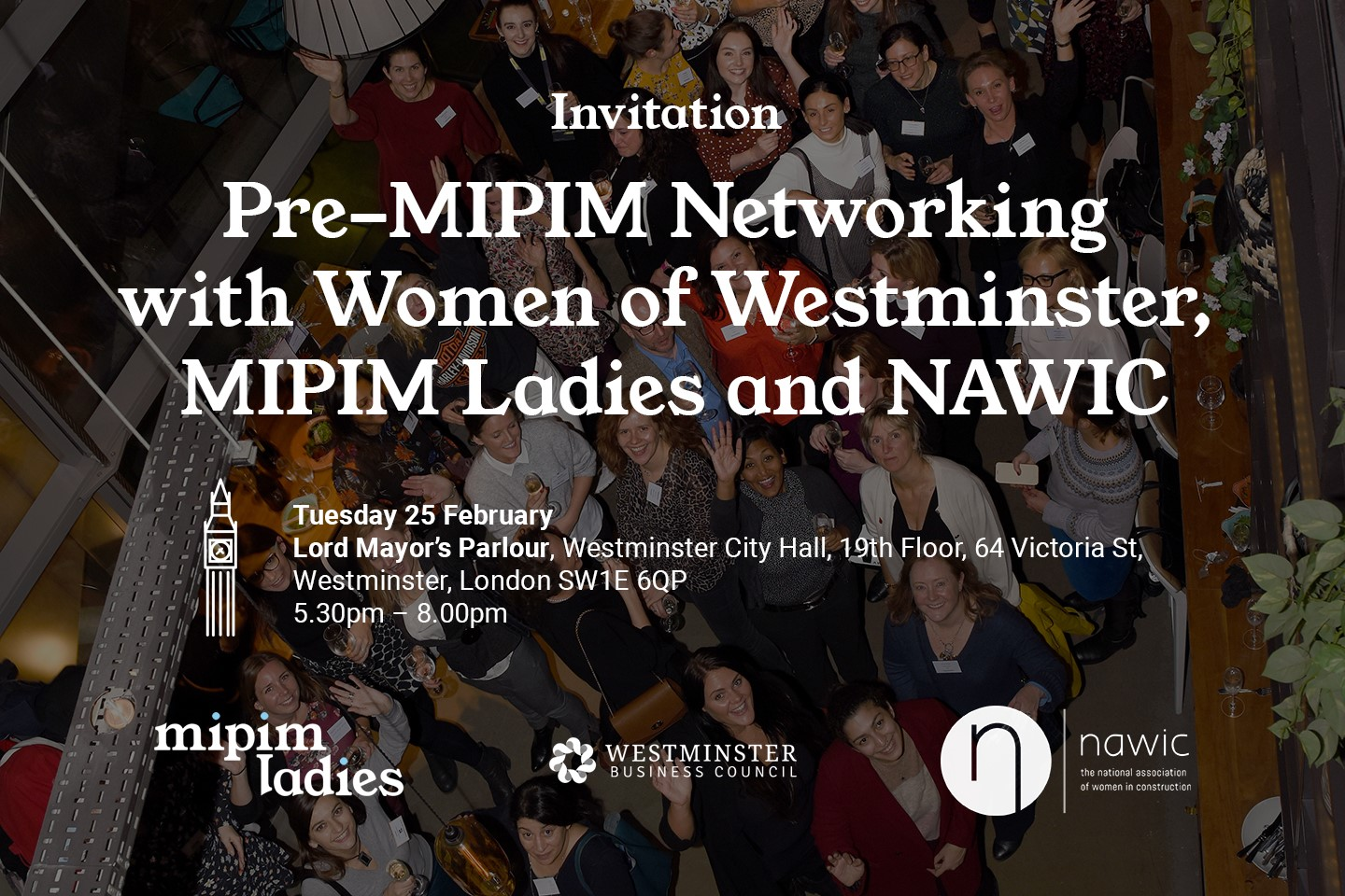Hamlins sponsor Pre-MIPIM Networking with Women of Westminster, MIPIM Ladies and NAWIC
