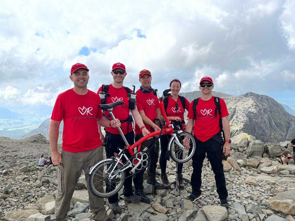 Cycle the Summits challenge raises thousands for Ruth Strauss Foundation